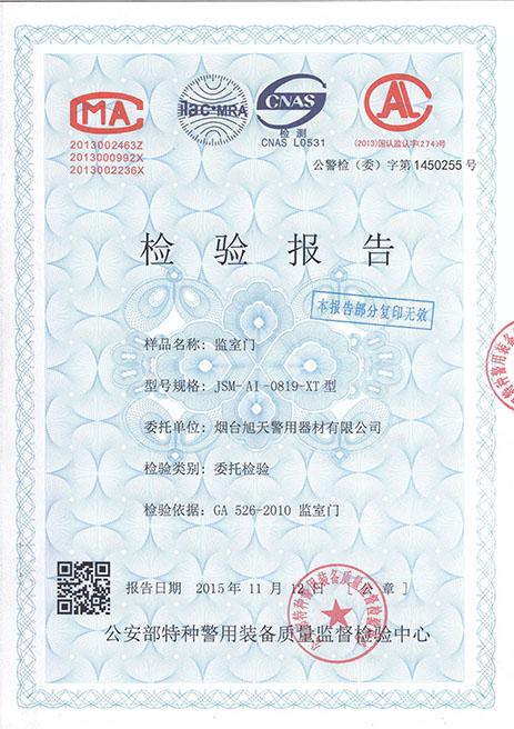 JSM-AI-0819-XT型检验报告(J)